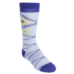 SmartWool Daisy Socks - Merino Wool, Lightweight, Over-the-Calf (For Girls)