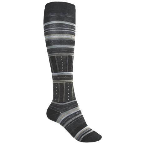 SmartWool Gleaming Seedling Socks - Merino Wool, Over the Calf (For Women)