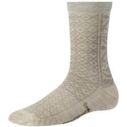 SmartWool Lily Pond Pointelle Socks - Merino Wool, Crew (For Women)
