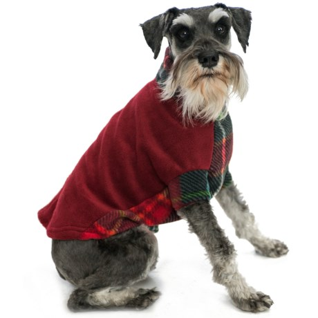 Premier Pet Fido Fleece Dog Sweater - Medium Dogs, Size 14