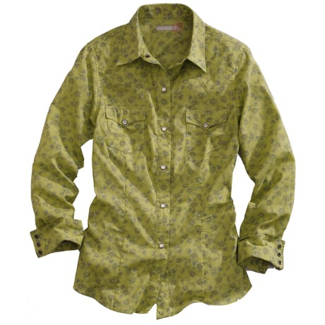 Tin Haul Heirloom Floral Print Shirt - Snap Front, Long Sleeve (For Women)
