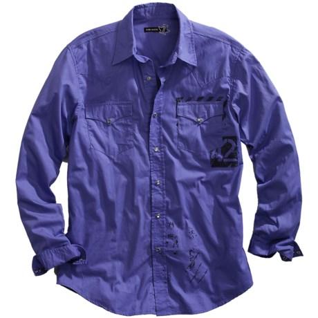 Tin Haul Screenprint Shirt - Snap Front, Long Sleeve (For Women)