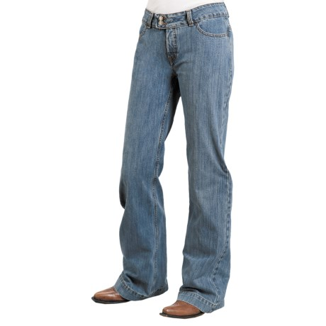 Stetson Leather-Trim Trouser Jeans (For Women)