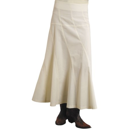 Stetson Asymmetrical Corduroy Skirt (For Women)