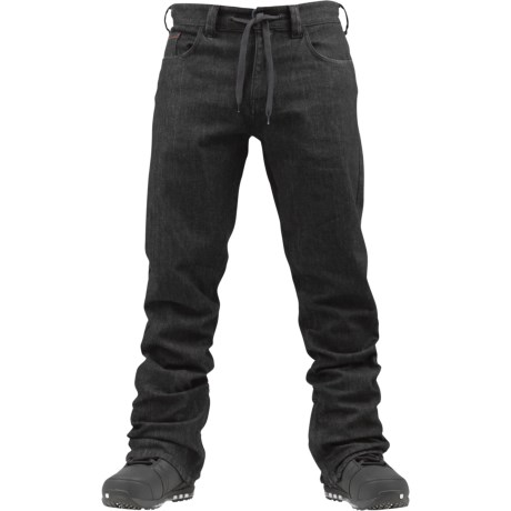 Burton Burner Denim Snowboard Pants - Waterproof (For Men)