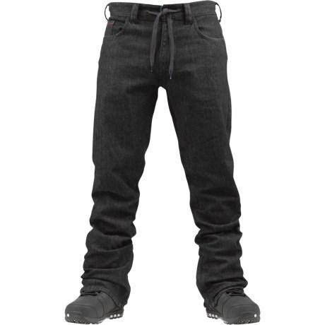 Burton Burner Denim Snowboard Pants - Waterproof (For Men)