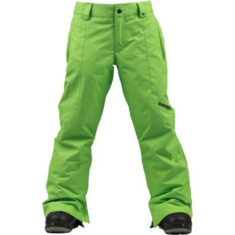 Burton Cyclops Snowboard Pants - Insulated (For Boys)