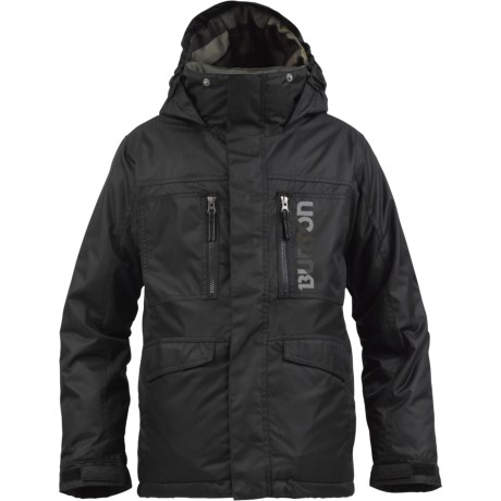 Burton Distortion Snowboard Jacket - Waterproof, Insulated (For Boys)