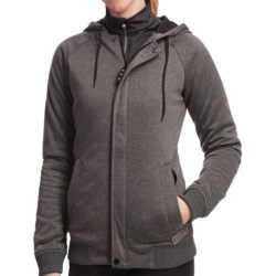 Burton Parker Sweatshirt - Insulated, Full Zip (For Women)