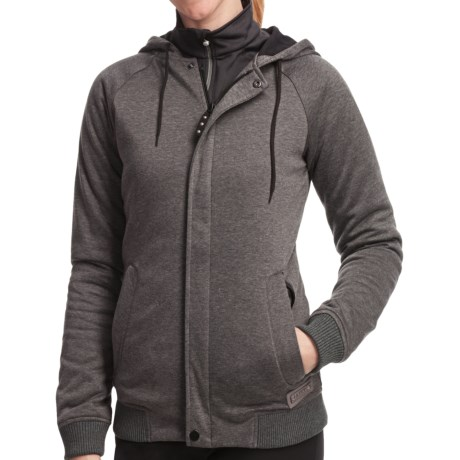 Burton Parker Sweatshirt - Insulated, Full Zip (For Women)