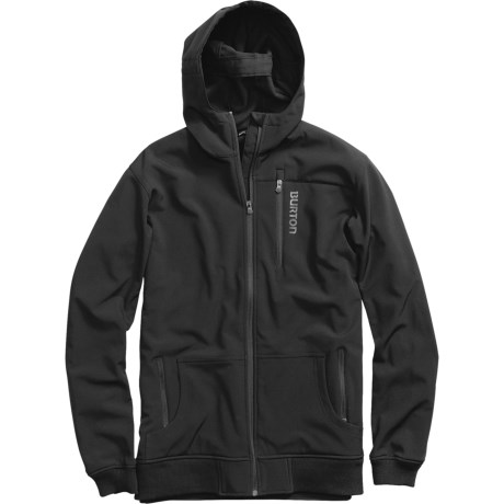 Burton Soft Shell Hoodie Jacket - Full Zip (For Men)