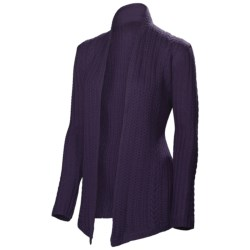Neve Vivienne Cabled Wrap - Merino Wool (For Women)