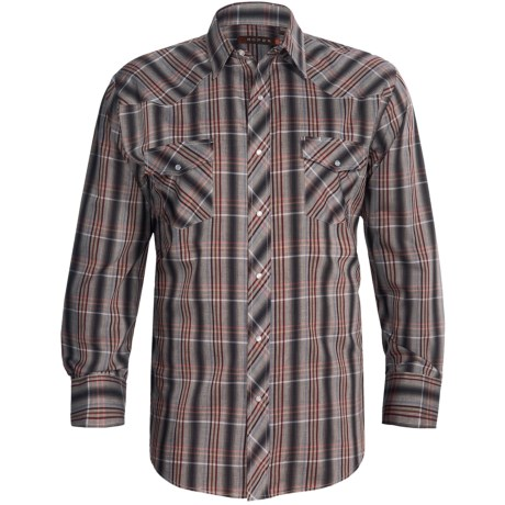 Roper Karman Plaid Shirt - Snap Front, Long Sleeve (For Men)