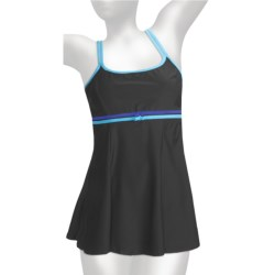 It Figures Double Bow Swimdress - 1-Piece (For Women)