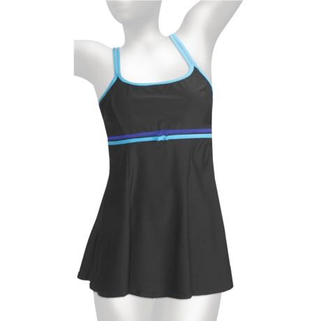 It Figures Double Bow Swimdress - 1-Piece (For Women)