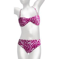 Caribbean Sand Twist Bikini  Bandeau, Halter (For Women)
