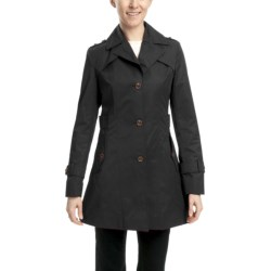 Cole Haan Water-Resistant Trench Jacket (For Women)