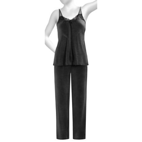 OnGossamer Whisper Knit Pajamas - Shoulder Strap (For Women)
