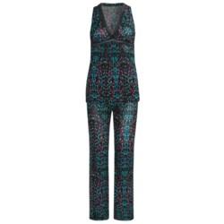 OnGossamer Triple-Twist Mesh Pajamas - Sleeveless (For Women)