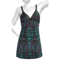 OnGossamer Triple-Twist Mesh Nightie - Shoulder Strap (For Women)