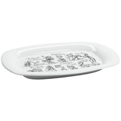 Disney Sketch Rectangular Serving Platter