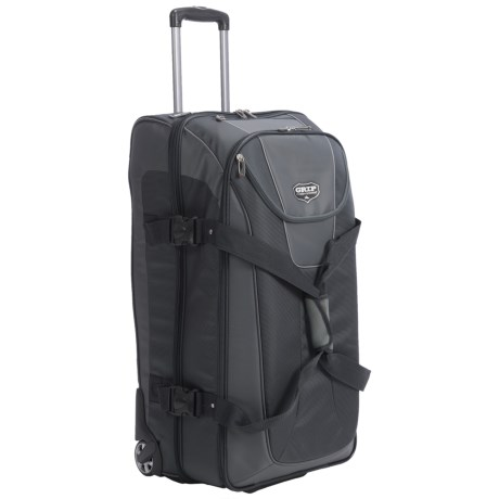 """High Sierra Grip Expandable Wheeled Duffel Bag with Backpack Straps- 32"""""""