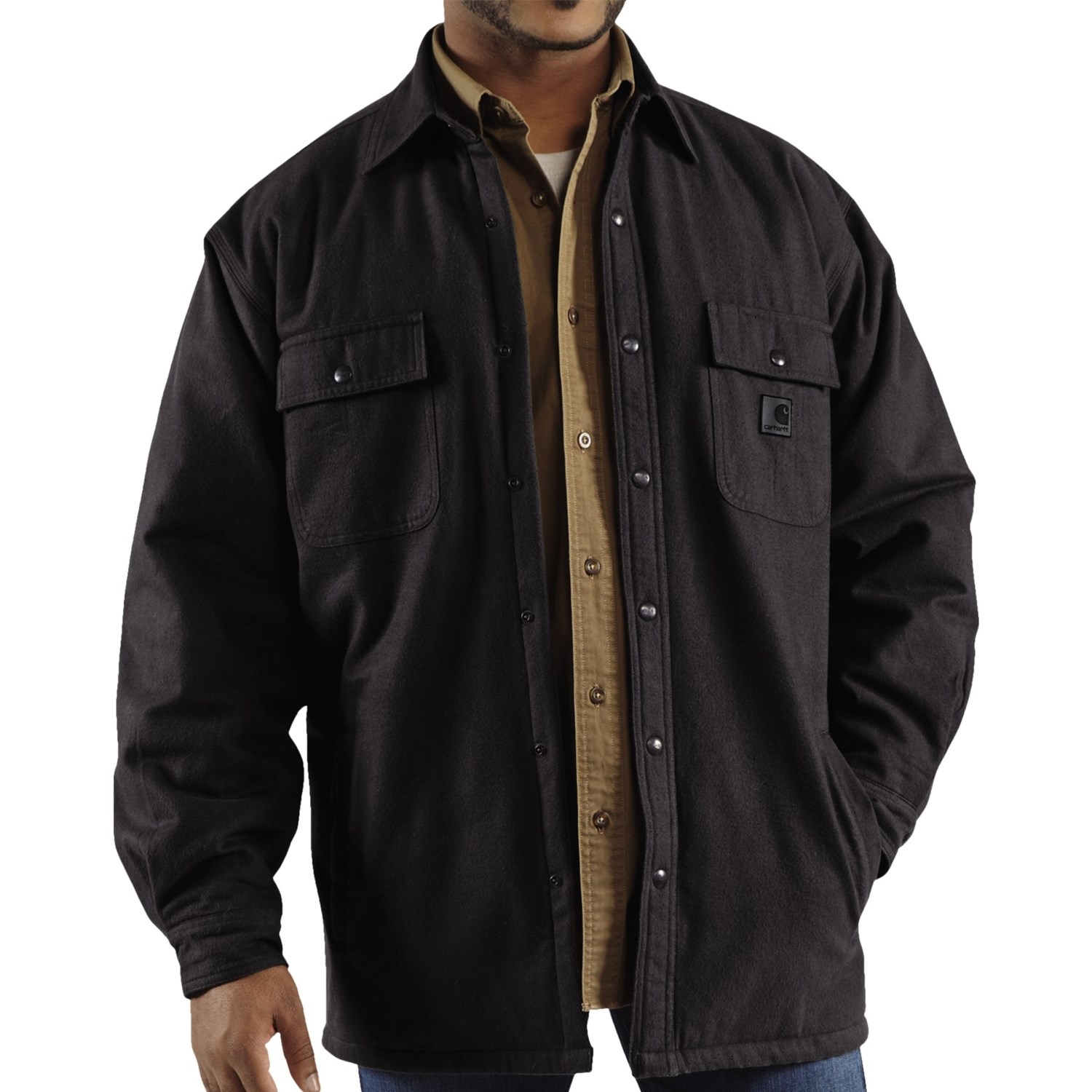 carhartt chore flannel shirt jacket for tall men 5734y