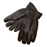 Auclair Deerskin Leather Gloves - Fleece-Lined (For Men)