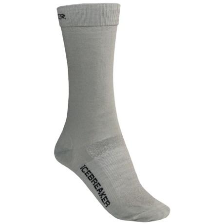 Icebreaker Hike Liner Socks - Merino-Nylon, Crew (For Women)