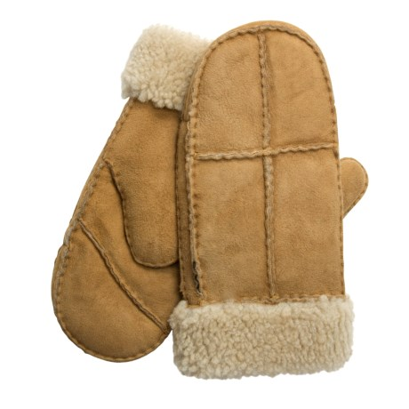 Auclair Sheepskin Mittens (For Women)