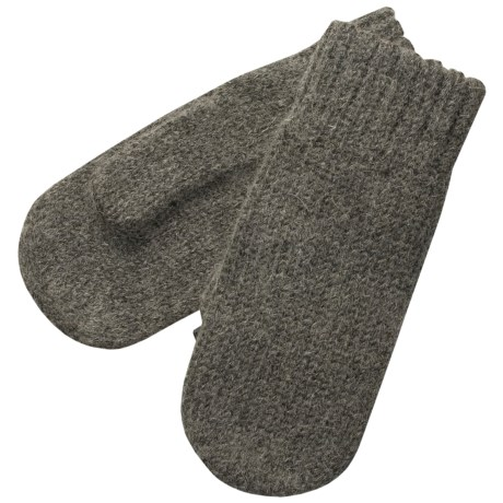 Auclair Alpaca Ragg Wool Mittens (For Women)