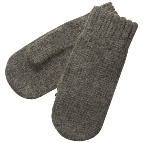 Auclair Alpaca Ragg Wool Mittens (For Women)