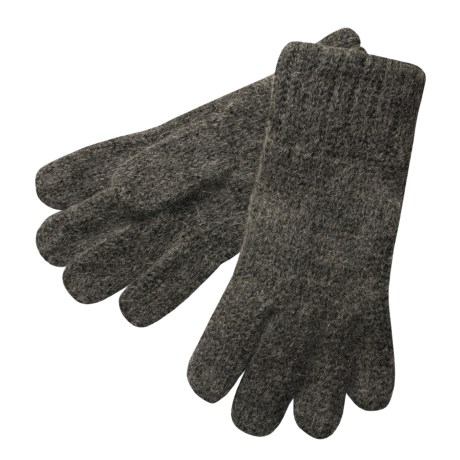 Auclair Alpaca Ragg Wool Gloves  (For Men)