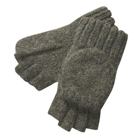 Auclair Ragg Wool Fliptop Glomitts - Alpaca Blend (For Men)