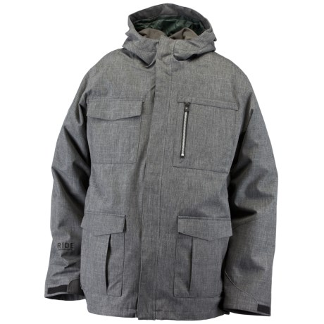Ride Snowboards Pioneer 3-in-1 Jacket - Insulated, Flannel Lined (For Men)