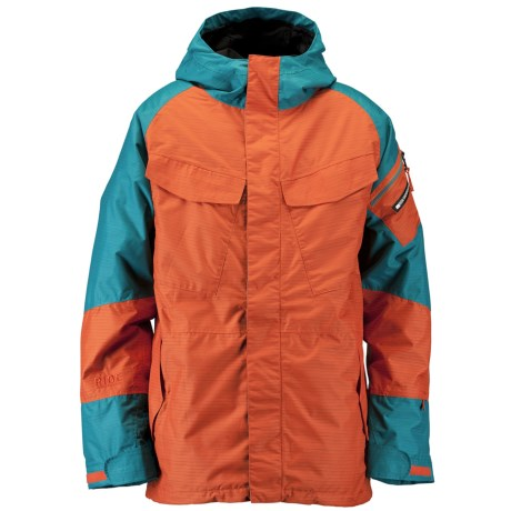 Ride Snowboards Delridge Shell Snowboard Jacket - Waterproof (For Men)