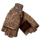 Jacob Ash Pop-Top Gloves - Insulated Ragg Wool (For Men)