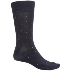 ECCO CoolMax® Pin-Dot Dress Socks (For Men)