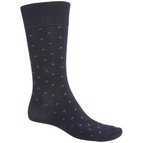 ECCO CoolMax® Birdseye Dress Socks - Crew (For Men)