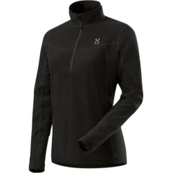 Haglofs Polartec® Classic Microfleece Pullover - Zip Neck, Long Sleeve (For Women)