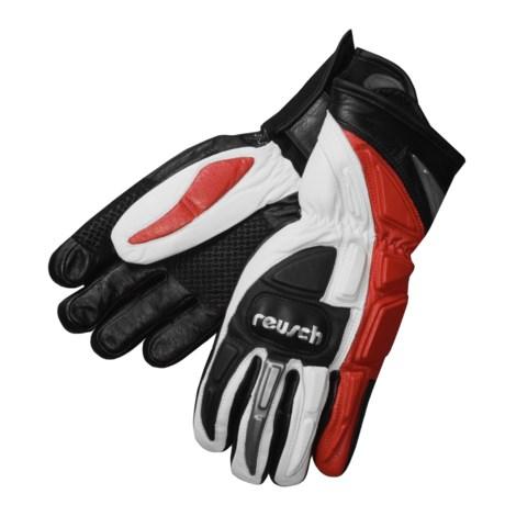 Reusch Ski Race Gloves - Leather Samurai, Insulated (For Men and Women)