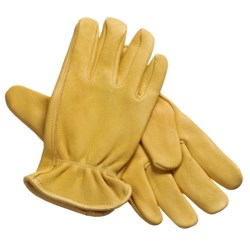 North American Trading Deerskin Work Gloves (For Men)