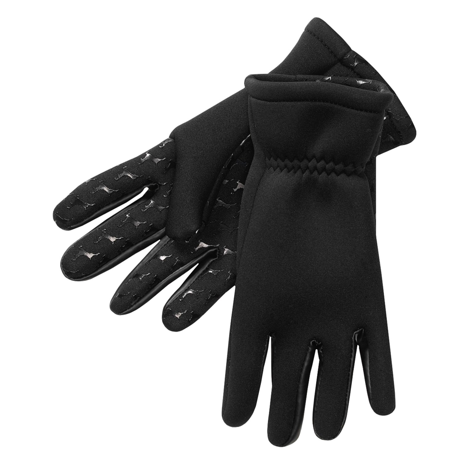 Hot shot neoprene fishing gloves w hot shot logo grip for for Neoprene fishing gloves