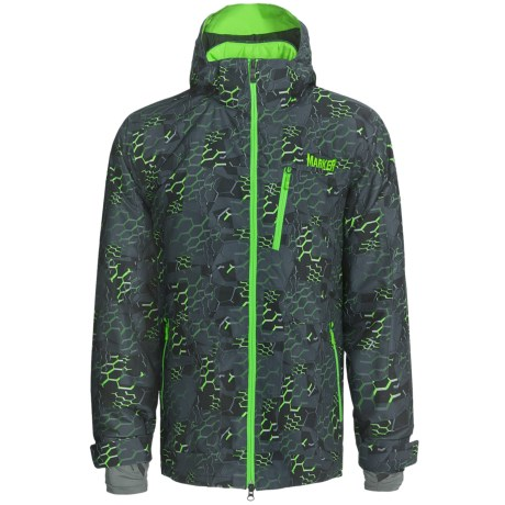 Marker Vertigo Print Ski Jacket - Waterproof, Insulated (For Men)