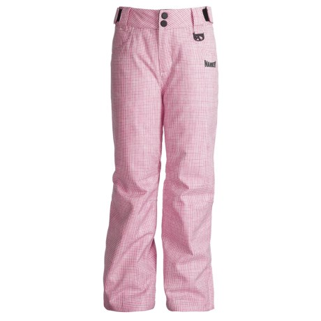 Marker Cupid Snow Pants - Insulated (For Girls)