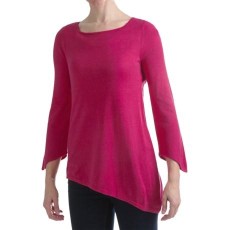 Cullen Asymmetric Tunic Sweater (For Women)