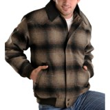 Powder River Outfitters Spokane Plaid Coat - Insulated, Wool Blend (For Men)