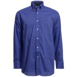 Panhandle Slim Peached Poplin Print Shirt - Long Sleeve (For Men)