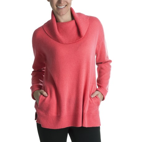 Cullen Cowl Neck Sweater - Cashmere (For Women)