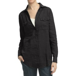 Pulp Two-Pocket Shirt - Linen, Long Sleeve (For Women)